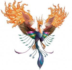 """It takes time to be a phoenix"""
